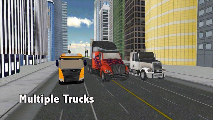 跑车卡车运输机3D游戏ios