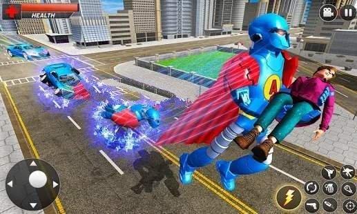 飞行英雄城市战斗游戏最新手机版
