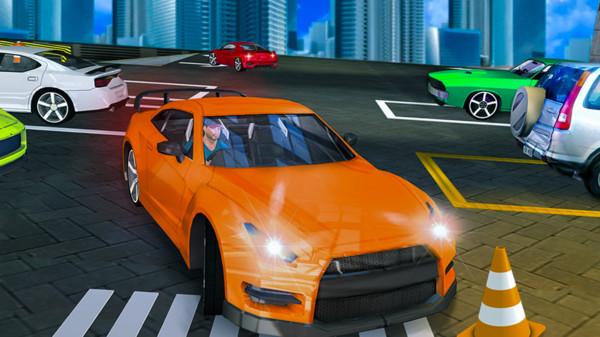 现代车辆停车场游戏